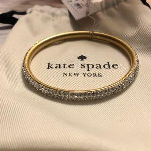 Kate Spade rhinestone bangle